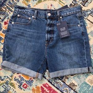 NWT Gap High Rise Shorts